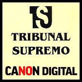 Tribunal Supremo - canon digital