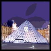 Apple Francia (piramide louvre)