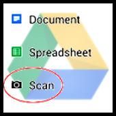 Google Drive - Scan