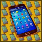 Galaxy S4 (fondo)